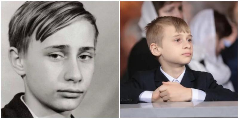 В сети поразились сходством сына Кабаевой и президента России