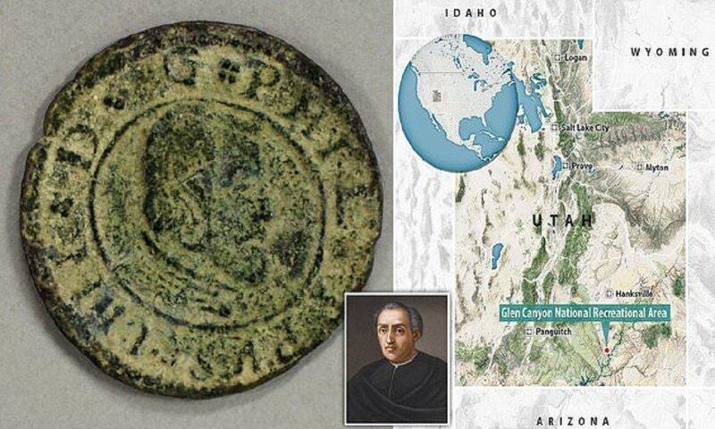 Загадочные испанские сокровища в Юте оказались гораздо старше Колумба