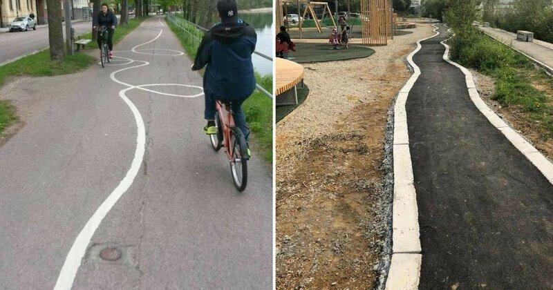 Когда жизнь не мила: 20 велодорожек, словно созданных Сатаной