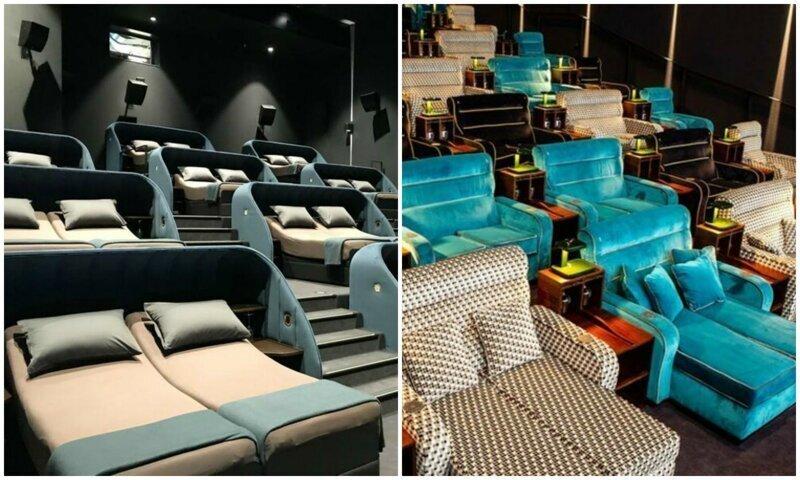 В Швейцарии открыли кинотеатр-мечту киномана