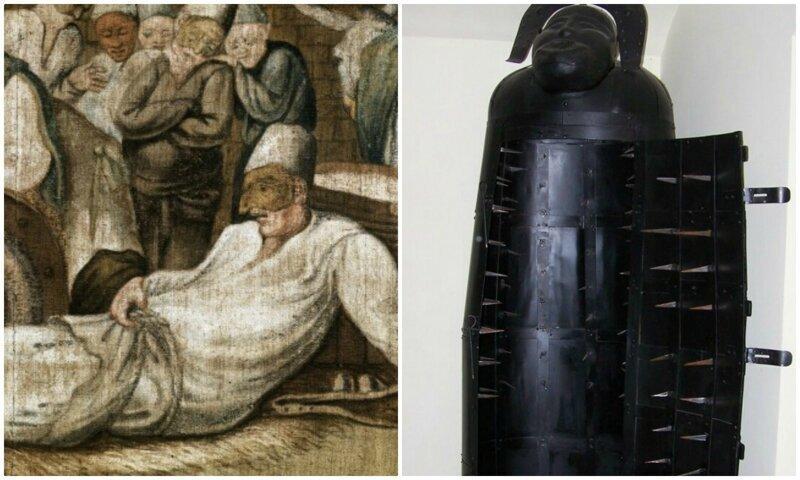 Диковатые способы наказания из древности