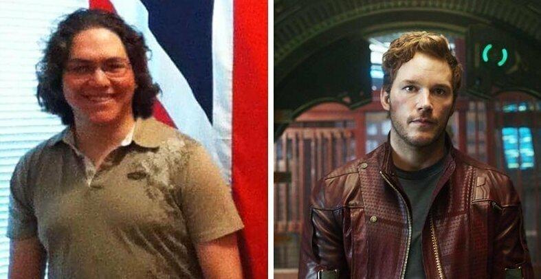 Парень похудел для косплея Звёздного Лорда, и теперь он его двойник даже в реальной жизни