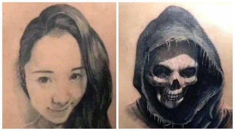 Любовь прошла: 25 остроумных перекрытий тату с изображением бывших