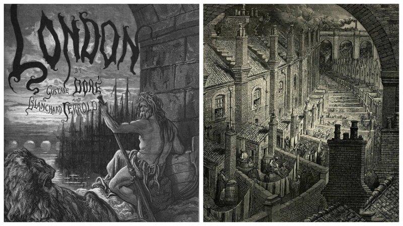 Викторианский Лондон в гравюрах Гюстава Доре