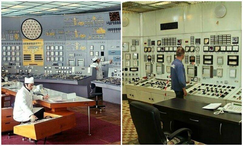 Строгая красота советских комнат управления