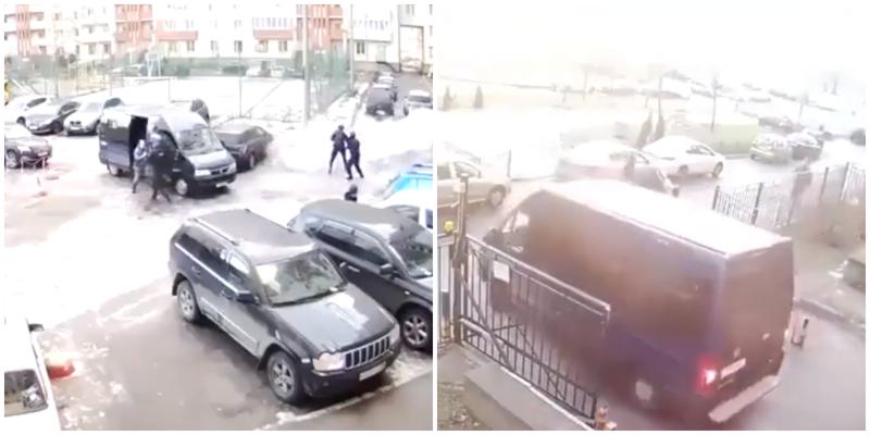 В сети появилось эпичное видео задержания преступника силовиками Росгвардии