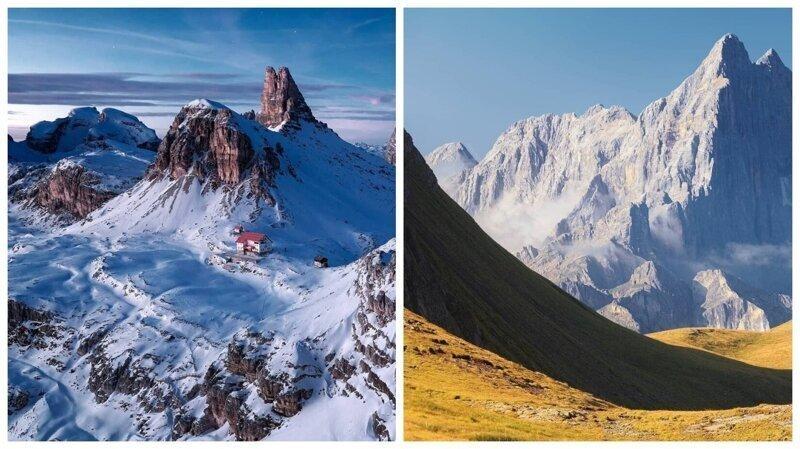 Волшебная красота Альп, от которой захватывает дух