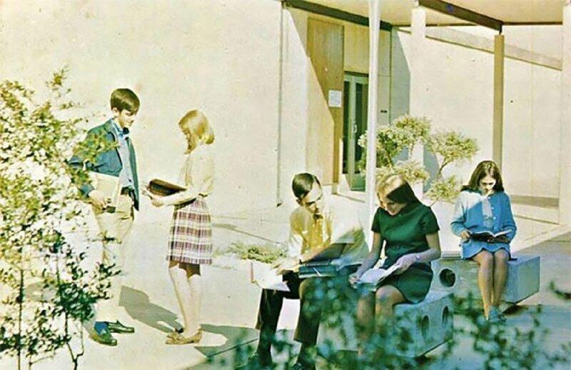 Школа 1970-х: как это было за океаном?