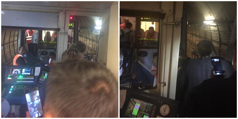 Пассажирка застрявшего в метро поезда подробно рассказала о произошедшем