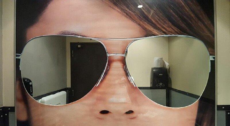 Зеркало в санузле может вас удивить!