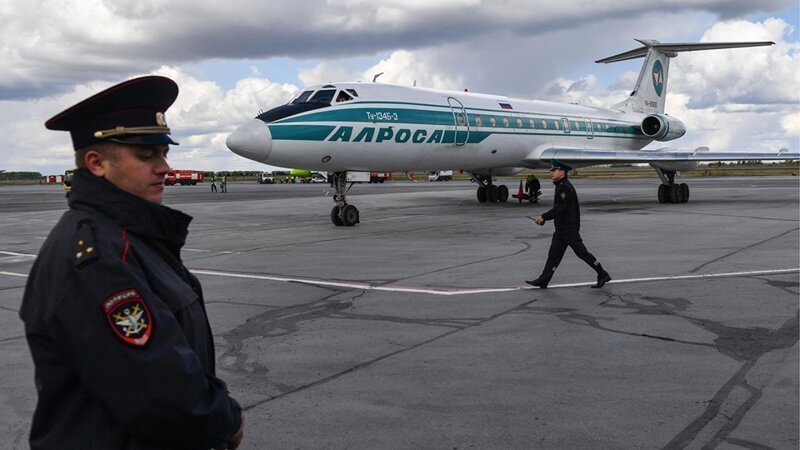 Лебединая песня: последний пассажирский ТУ-134 завершил свой полёт