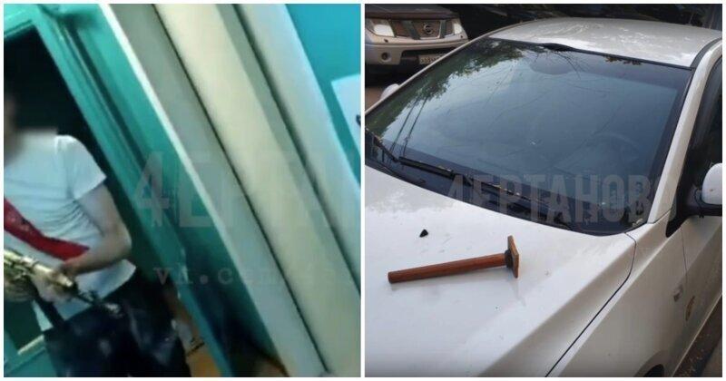В Чертаново выпускник чуть не застрелил из автомата сделавшего ему замечание жителя дома