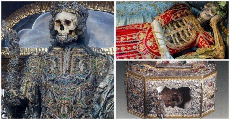 Бизнес на костях: скелеты, мощи и бриллианты