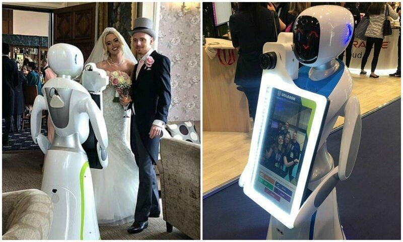 Роботы готовы подвинуть свадебных фотографов