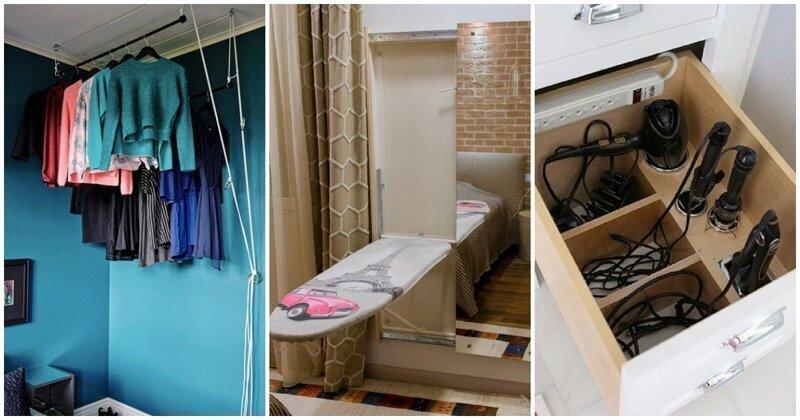 15 простых, но функциональных идей для экономии пространства в небольшой квартире