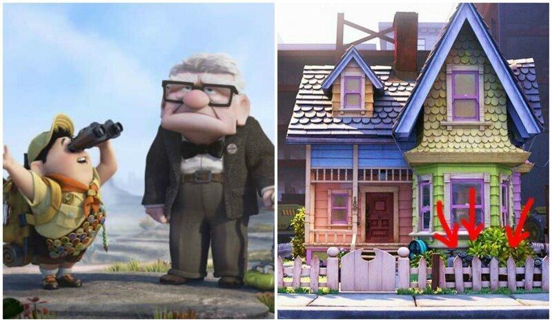 """15 любопытных деталей мультфильма """"Вверх"""", которые мы не заметили"""