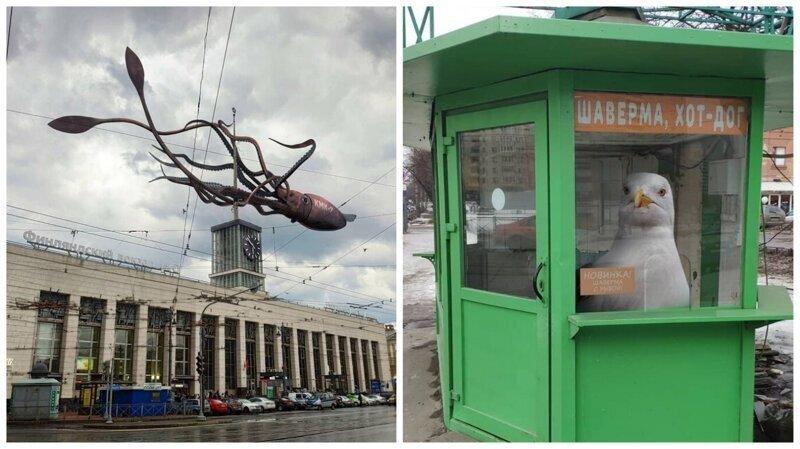 Фантастические твари и другие чудеса Санкт-Петербурга
