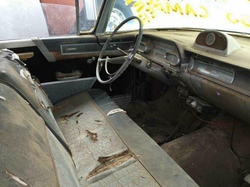 Кэмпер из катафалка Cadillac Superior House Car 1958