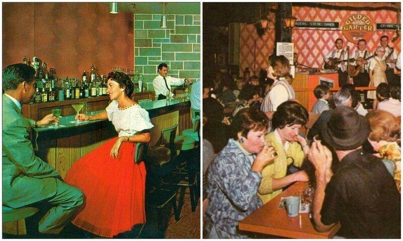 Атмосферно: американские бары и лаунджи 50-х и 60-х годов