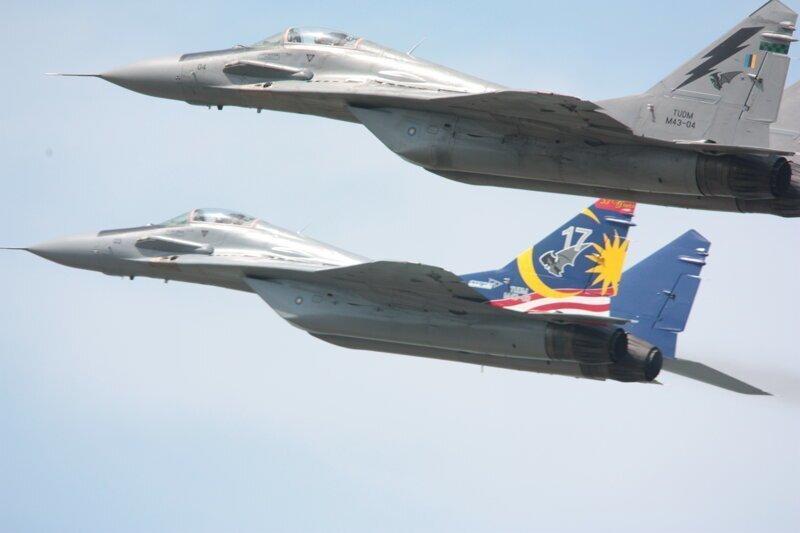 25-я годовщина подписания контракта на поставку в Малайзию 18 истребителей МиГ-29N