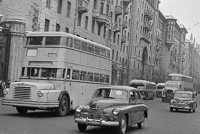 Почему в СССР не прижились двухэтажные автобусы и троллейбусы?