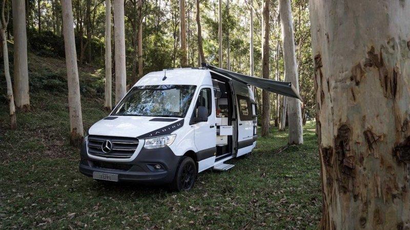 Специалисты из Австралии создали комфортный автодом на базе Mercedes Sprinter