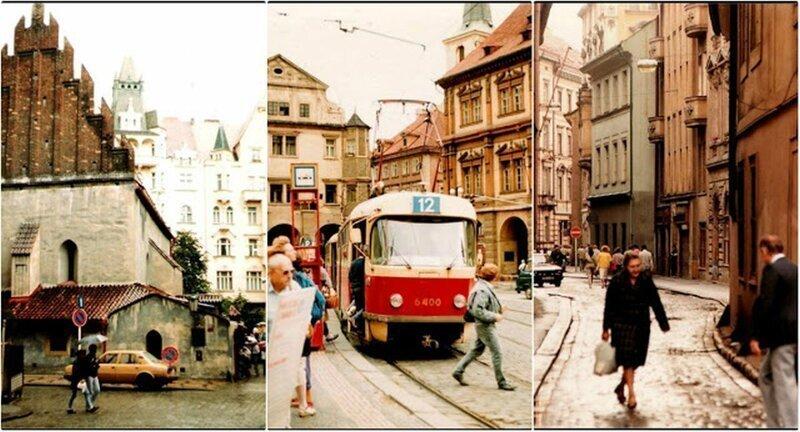 Как выглядела социалистическая Прага в далекие 80-е