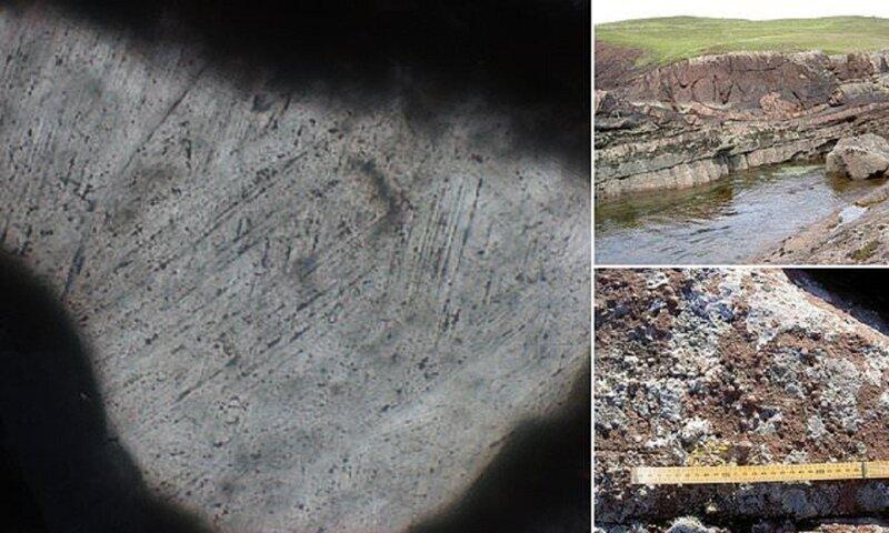 След от падения гигантского метеорита поразил ученых