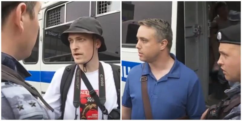 """""""Американец? Свободен!"""": в День России в Москве прошли массовые задержания"""