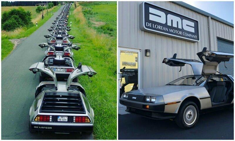 Автомобиль эпохи: легендарные и нестареющие DeLorean DMC-12