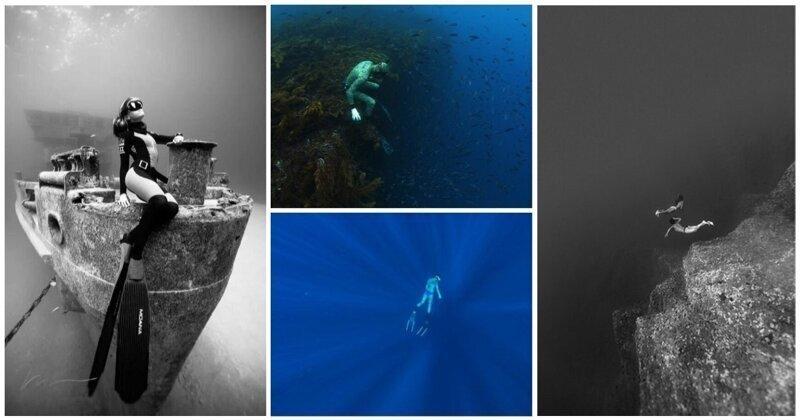 Почувствуй бездну: 25 завораживающих подводных снимков