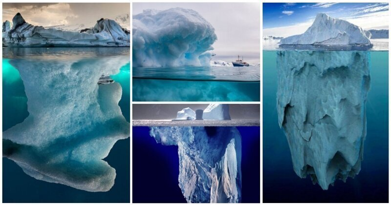 20 фото о настоящих размерах айсбергов