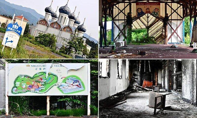 """Как выглядела """"русская деревня"""" в Японии, просуществовавшая всего 10 лет"""