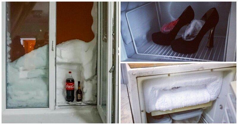 А что у вас в морозилке? 15 примеров забавного хранения в холодильнике