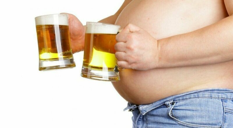 Почему от пива растет живот?