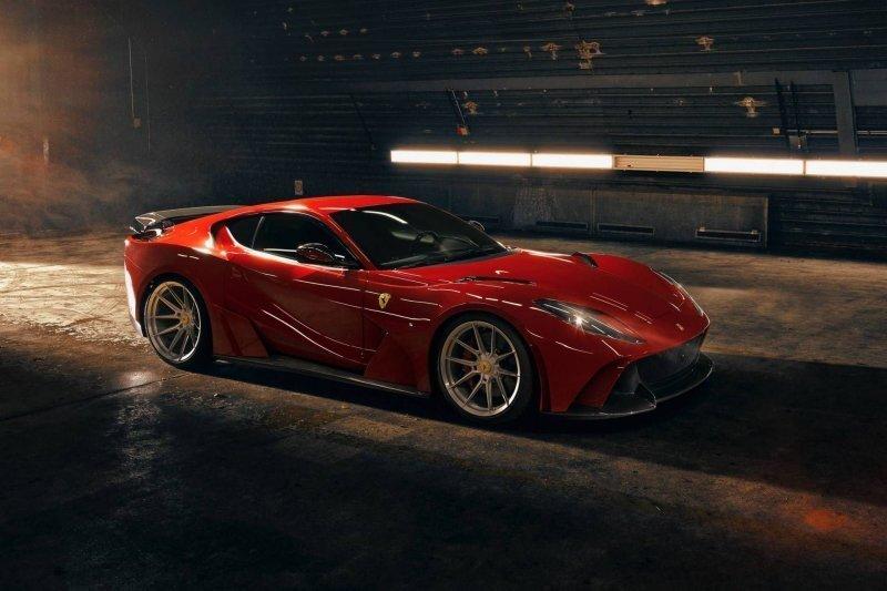 Экстремельный N-Largo Ferrari 812 Superfast от Novitec: быстрый и очень громкий