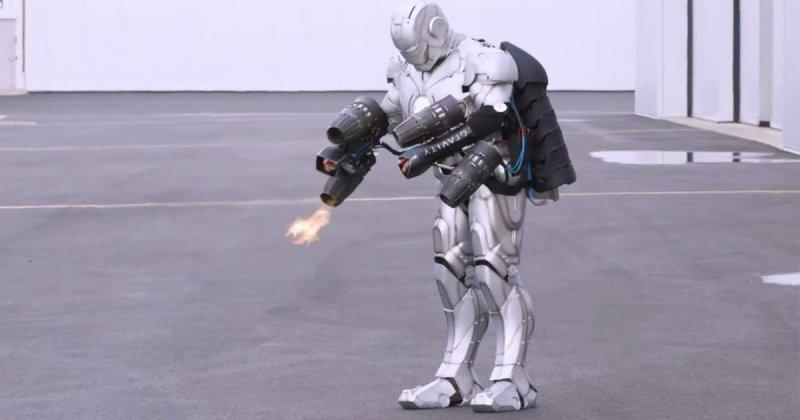 Ведущий «Разрушителей легенд» собрал летающий костюм Железного человека