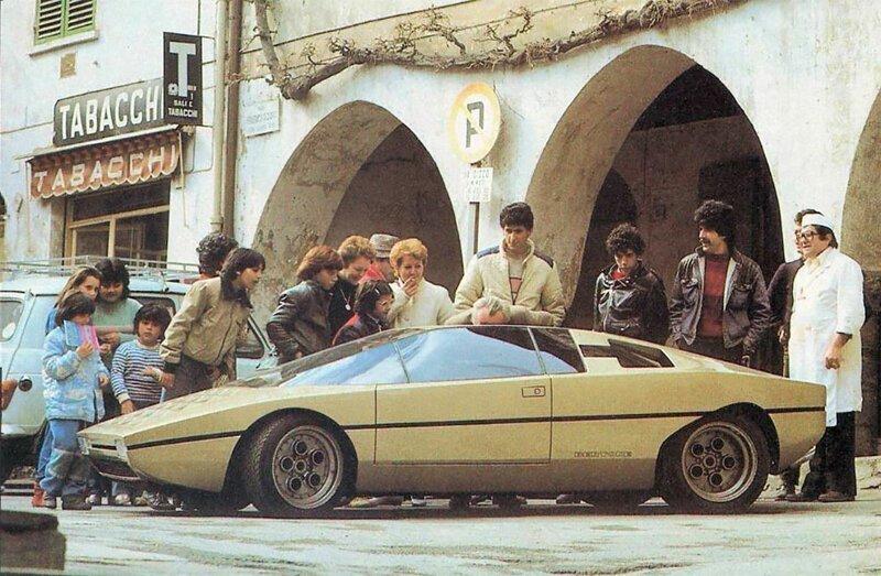 Lamborghini Bravo: автомобиль мечты, который так и не был выпущен в производство