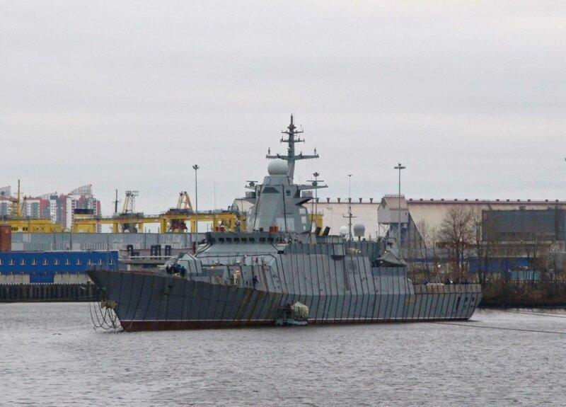 Срыв очередной попытки усилить российский ВМФ корветом «Гремящий»