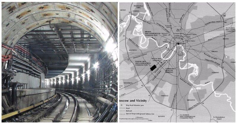 В Мосгоргеотресте рассказали о слухах про секретные линии «Метро-2»