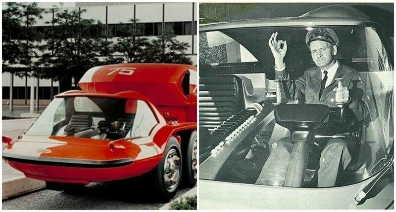 Как представляли автомобиль будущего в 1964-ом