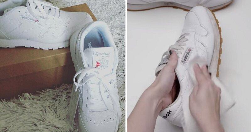 Простой способ вернуть кроссовкам былую белизну за считанные минуты