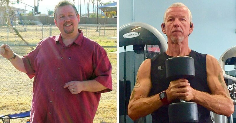 Сила воли: мужчина, который в 53 года взял себя в руки и похудел на 78 кг