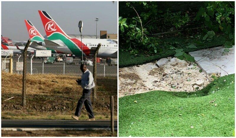 Из самолета над Лондоном выпал безбилетник, едва не убив местного жителя