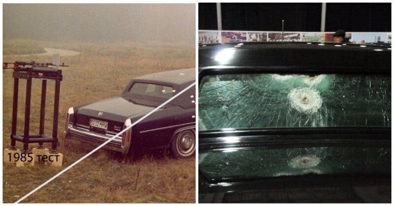 Бронированный Cadillac vs ЗИЛ-4105: как проходили огневые испытания автомобилей