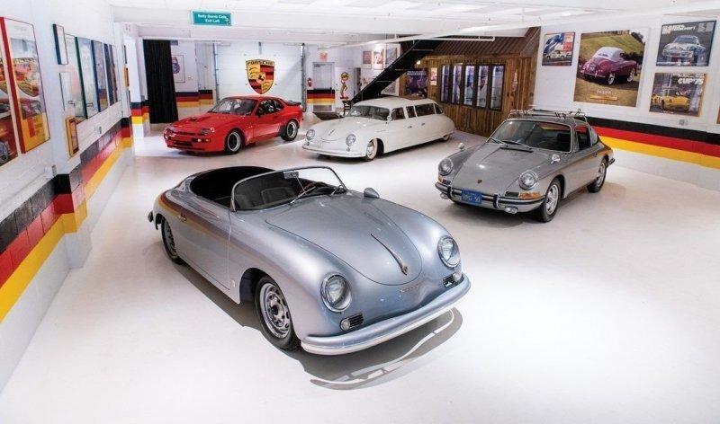 Фургон и лимузин Porsche 356 из коллекции Taj Ma Garage «уйдут с молотка»