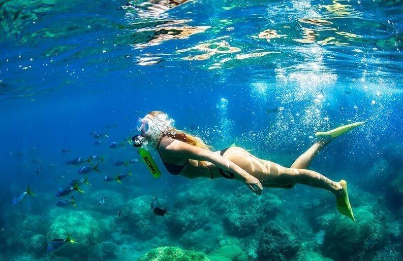 Баллончик для дайвинга накачивается насосом и позволяет дышать под водой