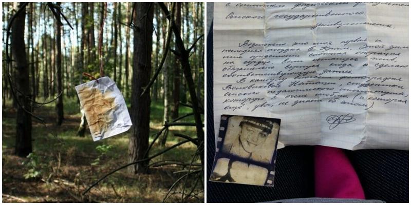 35 лет назад омич оставил письмо в крымском дереве, и теперь оно вернулось к нему
