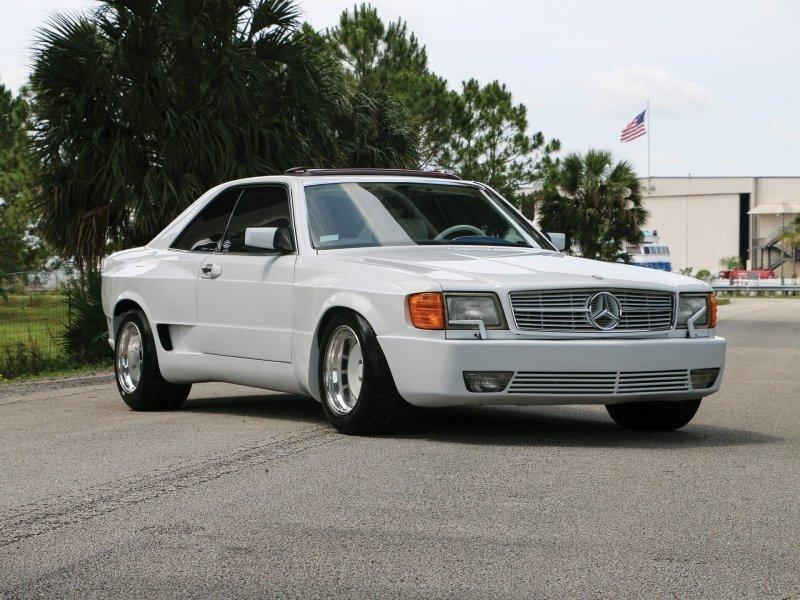 """Mercedes-Benz Autosalon 2000 Super Sport 1987 """"Майами стайл"""" на продажу"""