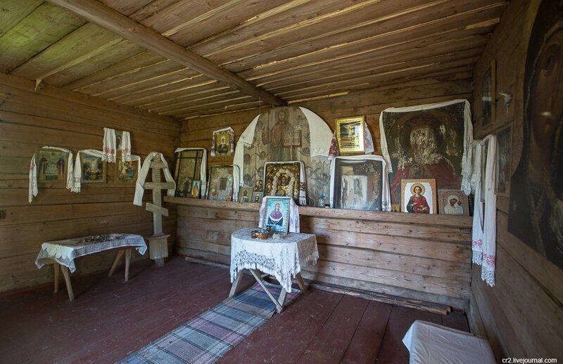 Новгородская область. Душевная часовня в селе Малахово